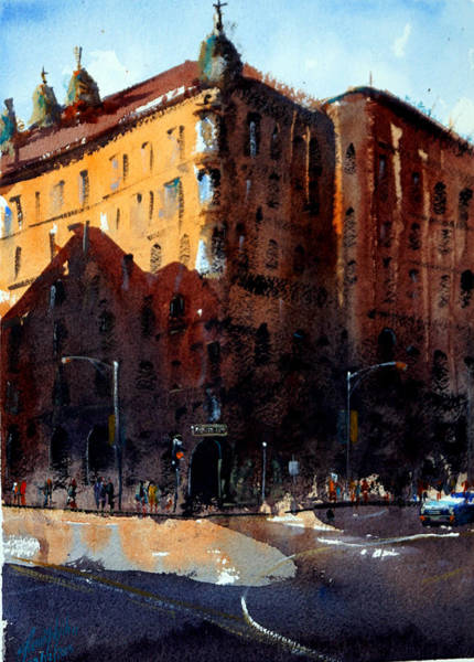 Wall Art - Painting - 1499 New York Ave by James Nyika