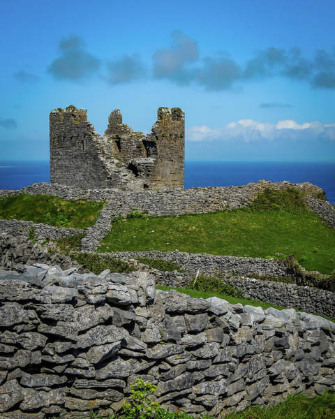 Photograph - 14th Century O'brien's Castle Aran Islands by James Truett