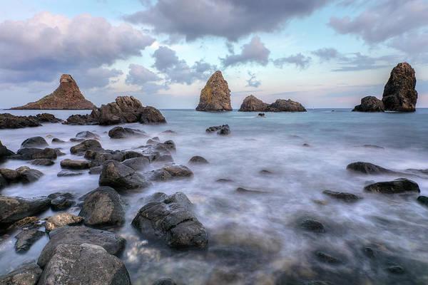Riviera Photograph - Aci Trezza - Sicily by Joana Kruse