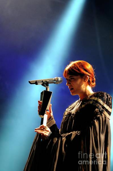 Photograph - Florence And The Machine  by Jenny Potter