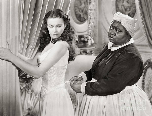 African American Woman Wall Art - Photograph - Gone With The Wind, 1939 by Granger