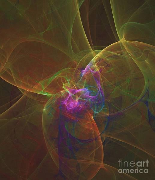 Deity Digital Art - Patterns Of Life By Rt by Raphael Terra