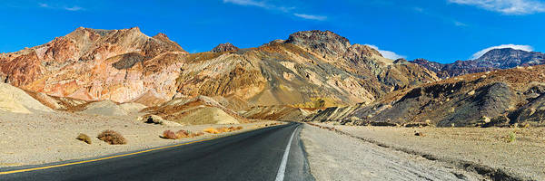 Wall Art - Photograph - Road Passing Through A Landscape by Panoramic Images