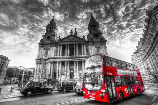 Wall Art - Photograph - St Paul's Cathedral London by David Pyatt
