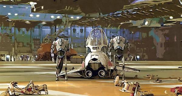 Star Wars Episode 3 Wall Art - Digital Art - Star Wars Episode 1 Poster by Larry Jones