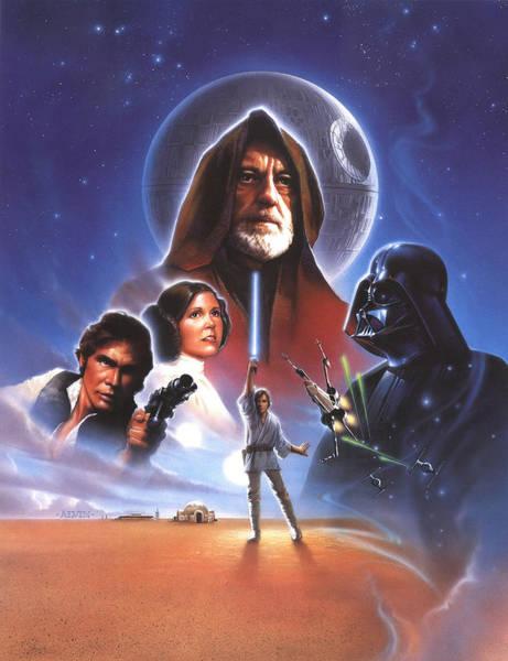 Yoda Digital Art - Star Wars Episode Iv - A New Hope 1977 by Geek N Rock