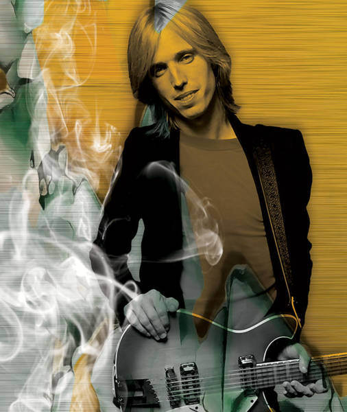 Wall Art - Mixed Media - Tom Petty Collection by Marvin Blaine