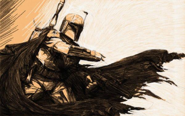 Star Wars Episode 3 Wall Art - Digital Art - Trilogy Star Wars Art by Larry Jones