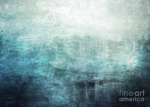 Painting - 15c Abstract Seascape Sunrise Painting Digital by Ricardos Creations