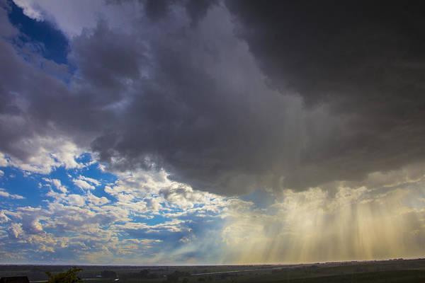 Photograph - Afternoon Nebraska Thunderstorms by Dale Kaminski