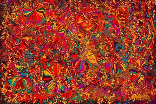 Flower Digital Art - Colors by Maye Loeser