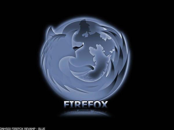 Firefox Digital Art - Firefox by Mery Moon
