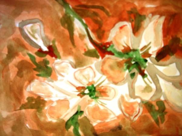 Flowers-02 Art Print