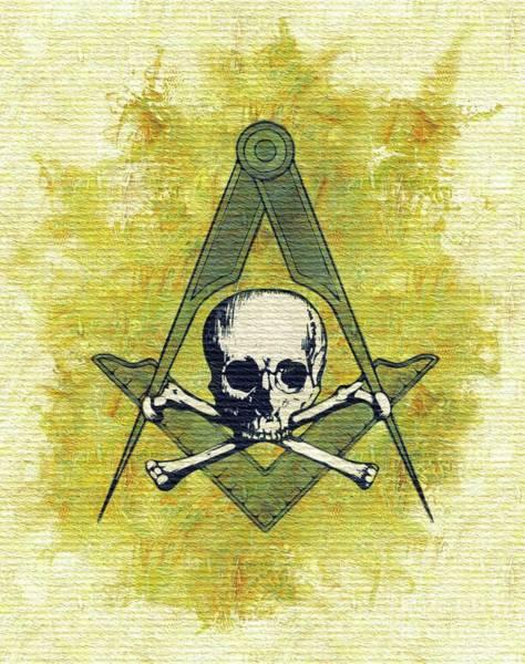 Serpent Painting - Freemason, Masonic, Symbols by Pierre Blanchard