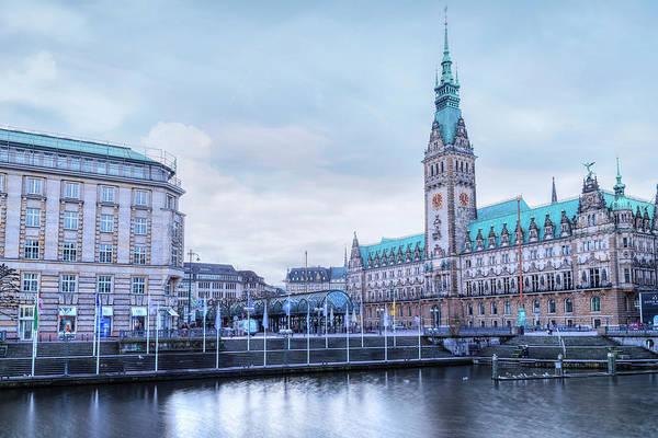 Rathaus Photograph - Hamburg - Germany by Joana Kruse