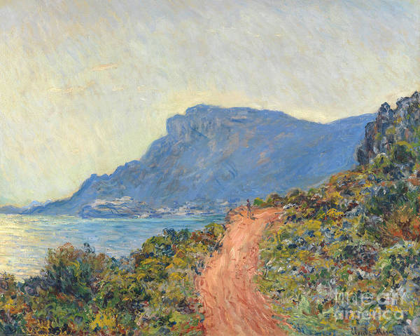 Painting - La Corniche Near Monaco by Claude Monet