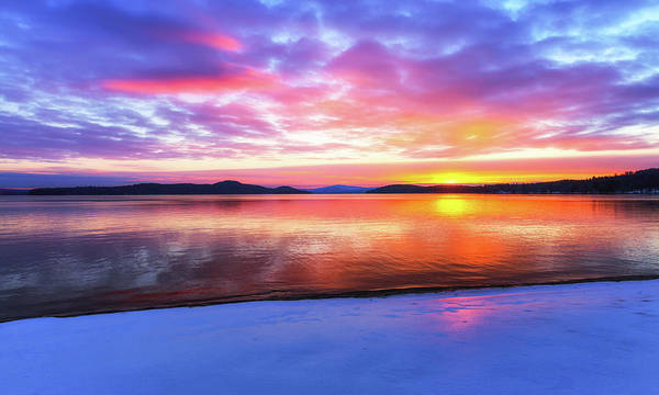 Photograph - Lake Winnipesaukee by Robert Clifford