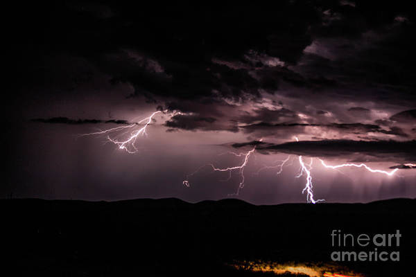 Photograph - Lightning by Mark Jackson