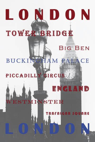 Trafalgar Photograph - London by Joana Kruse