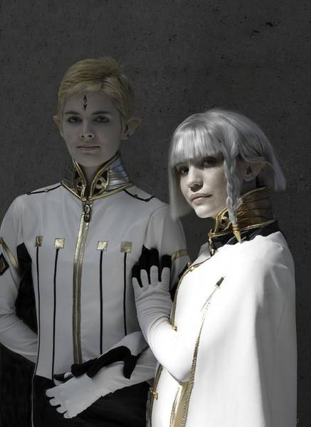 Cosplay Photograph - Dio And Lucciola by Viktor Savchenko