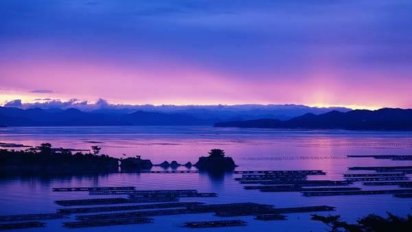 Sunset Digital Art - Scenic by Super Lovely