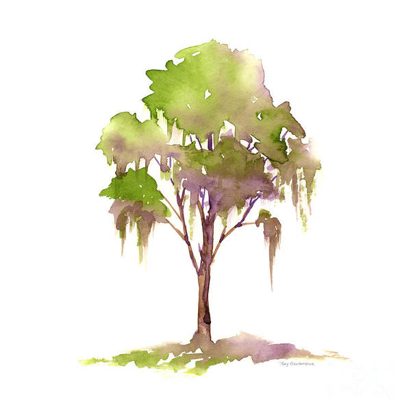 Painting - #16 Tree by Amy Kirkpatrick