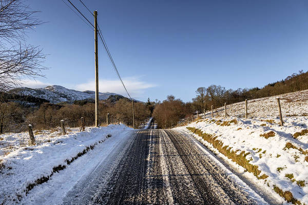 Photograph - Trossachs Scenery In Scotland by Jeremy Lavender Photography