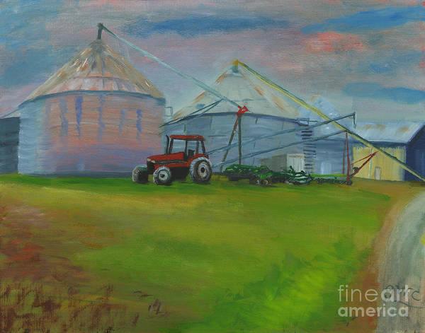 Wall Art - Painting - 1600 Wakefild Valley Farm by Gloria Condon
