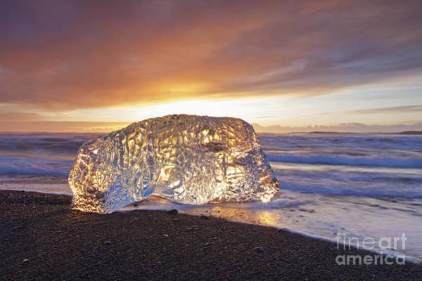 Photograph - Ice Washed Ashore by Arterra Picture Library