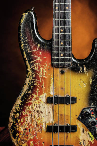 Photograph - 16.1834 011.1834c Jazz Bass 1969 Old 69 by M K Miller