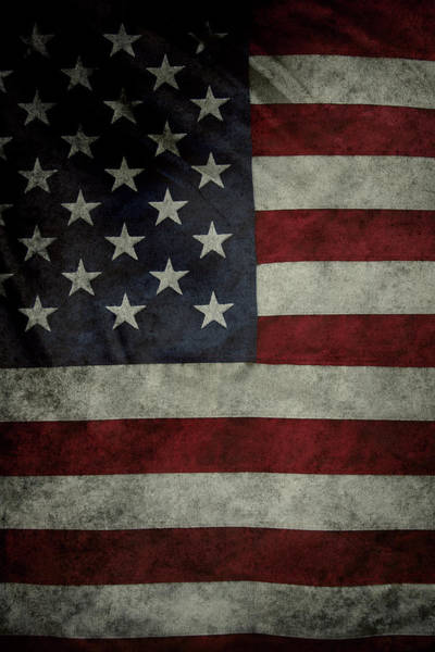 American Flag Wall Art - Photograph - American Flag 62 by Les Cunliffe