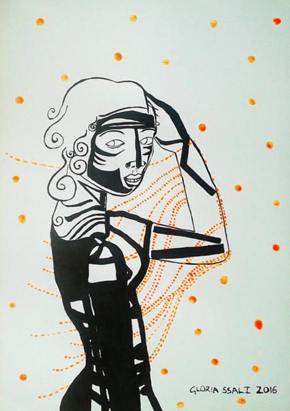 Painting - Dinka Diva - South Sudan by Gloria Ssali