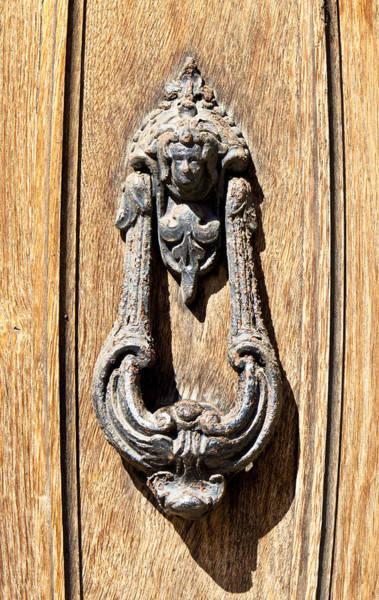 Ancient Architecture Photograph - Door Knocker  by Tom Gowanlock