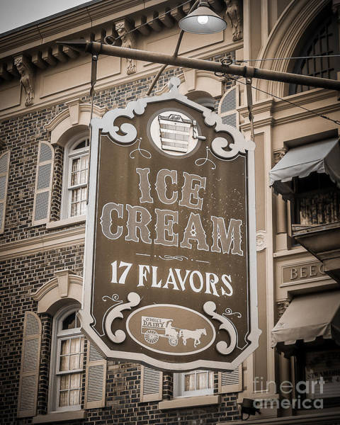 Wall Art - Photograph - 17 Flavors by Perry Webster