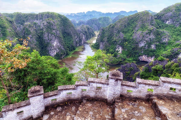 Berge Wall Art - Photograph - Ninh Binh - Vietnam by Joana Kruse