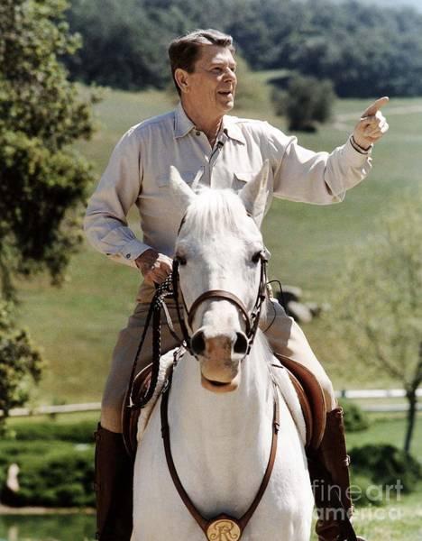 Photograph - Ronald Reagan 1911-2004 by Granger