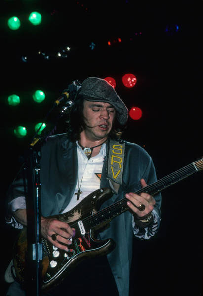 Photograph - Stevie Ray Vaughan by Rich Fuscia