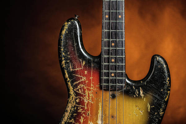 Photograph - 17.1834 011.1834c Jazz Bass 1969 Old 69 by M K Miller