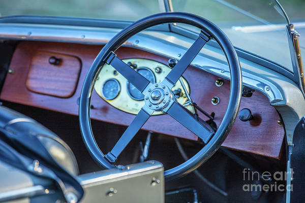 Photograph - 1743.033 1930 Mg Dashboard by M K Miller
