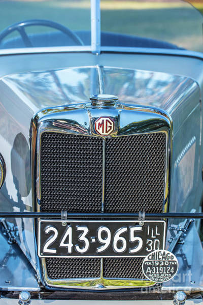 Photograph - 1743.040 1930 Mg Classic Car by M K Miller