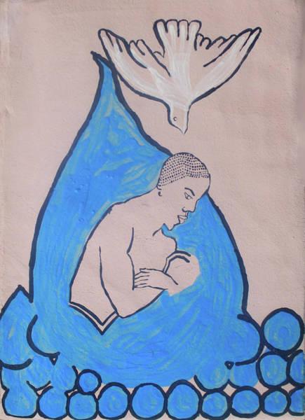 Ceramic Art - Baptism Of The Lord Jesus by Gloria Ssali