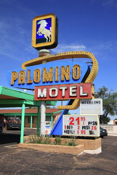 Photograph - Route 66 - Tucumcari New Mexico by Frank Romeo
