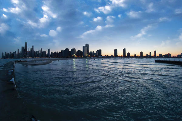 Photograph - 180 Degree View Of The Chicago Skyline by Sven Brogren