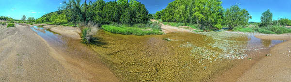 Photograph - 180 Of Sandy Creek At Coulee Hollow Crossing II Hdr by Greg Reed