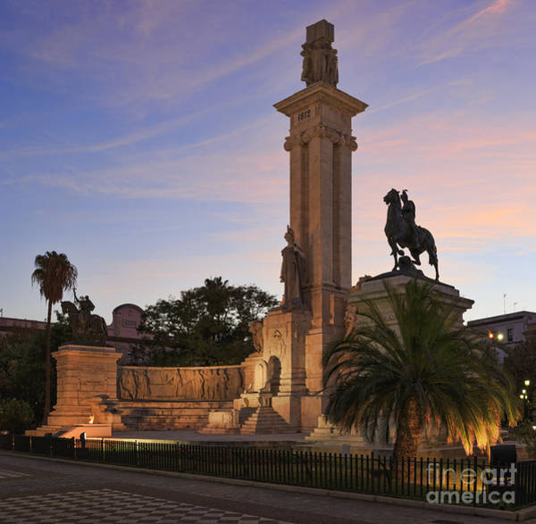 Photograph - 1812 Constitution Centennial Memorial Spain Cadiz Spain by Pablo Avanzini