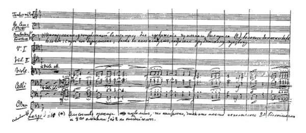 Wall Art - Drawing - 1812 Overture By Tchaikovsky by Pyotr Tchaikovsky