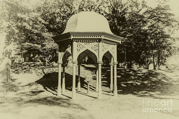 Photograph - 1872 Gazebo by William Norton