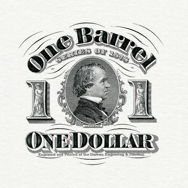 Wall Art - Photograph - 1878 Beer Barrel Tax Stamp by Jon Neidert