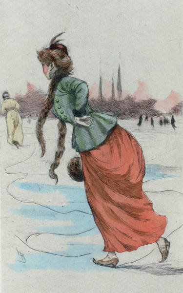 Wall Art - Drawing - 1887 Paris France Fashion Drawing by Movie Poster Prints