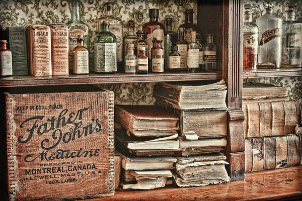 Photograph - 18th Century Pharmacy by Tatiana Travelways